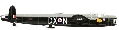 Profil couleur du Avro Lincoln