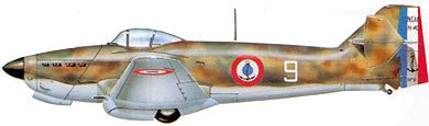 Profil couleur du Loire-Nieuport LN.401/411