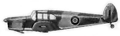 Profil couleur du Miles M.28 Mercury