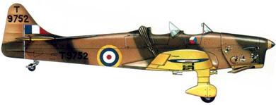 Profil couleur du Miles M.14 Magister