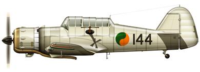 Profil couleur du Miles M.25 Martinet