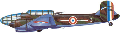 Profil couleur du Bloch MB.174/175