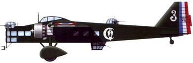 Profil couleur du Bloch MB.200