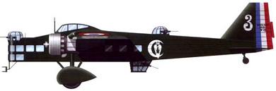 Profil couleur du Bloch MB.200