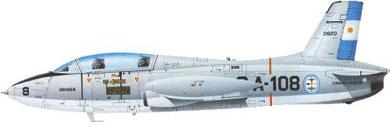 Profil couleur du Aermacchi M.B.326
