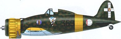 Profil couleur du Macchi MC.200 Saetta