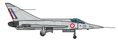 Profil couleur du Dassault MD.550 Mystère Delta / Mirage I