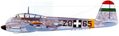 Profil couleur du Messerschmitt Me 210