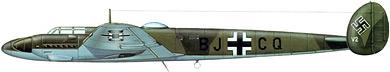 Profil couleur du Messerschmitt Me 261