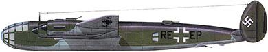 Profil couleur du Messerschmitt Me 264 Amerikabomber