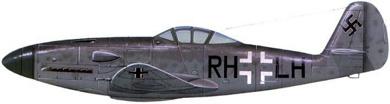 Profil couleur du Messerschmitt Me 309