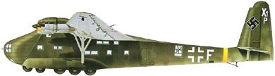 Profil couleur du Messerschmitt Me 323 Gigant