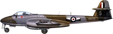 Profil couleur du Gloster G.41 Meteor