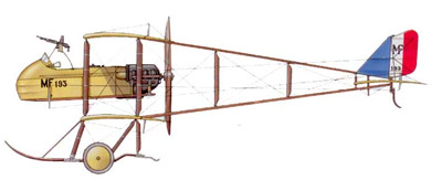 Profil couleur du Farman MF-11