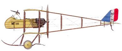 Profil couleur du Farman MF-11