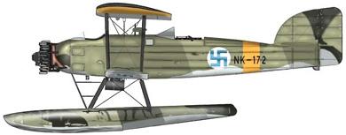 Profil couleur du Marinens F. MF-11