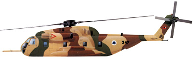 Profil couleur du Sikorsky MH-53 Sea Dragon