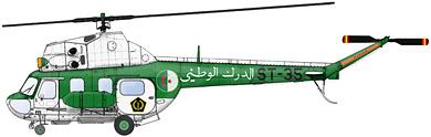 Profil couleur du Mil Mi-2  'Hoplite'