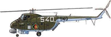 Profil couleur du Mil Mi-4  'Hound'