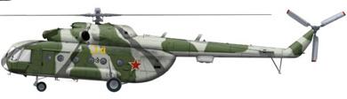 Profil couleur du Mil Mi-8  'Hip'