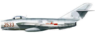 Profil couleur du Mikoyan-Gurevich MiG-17  'Fresco'
