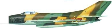 Profil couleur du Mikoyan-Gurevich MiG-19  'Farmer'