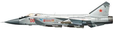 Profil couleur du Mikoyan MiG-31  'Foxhound'