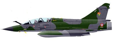 Profil couleur du Dassault Aviation  Mirage 2000