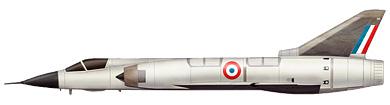Profil couleur du Dassault  Mirage III V / Balzac V