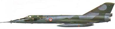 Profil couleur du Dassault  Mirage IV
