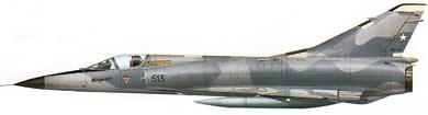 Profil couleur du Dassault  Mirage 5 / Mirage 50