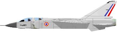 Profil couleur du Dassault Mirage F2