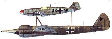 Profil couleur du Junkers  Mistel