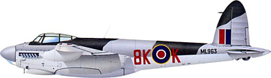 Profil couleur du De Havilland D.H.98 Mosquito