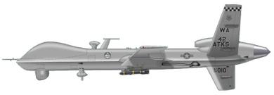 Profil couleur du General Atomics MQ-9 Reaper