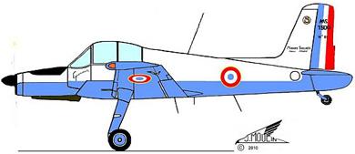 Profil couleur du Morane-Saulnier MS.1500 Epervier