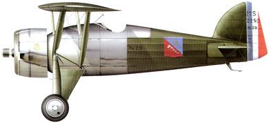 Profil couleur du Morane-Saulnier MS.225
