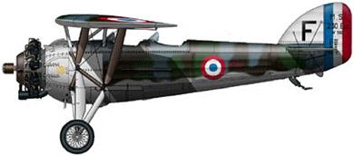 Profil couleur du Morane-Saulnier MS.230