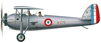 Profil couleur du Morane-Saulnier MS.315/MS.317