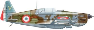 Profil couleur du Morane-Saulnier MS.406