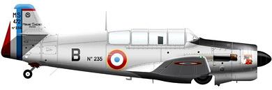 Profil couleur du Morane-Saulnier MS.470 Vanneau