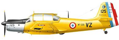 Profil couleur du Morane-Saulnier MS.733 Alcyon