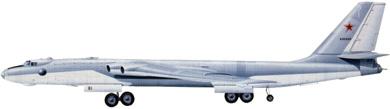 Profil couleur du Myasishchev  Mya-4/M-4 Molot 'Bison'