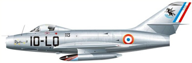 Profil couleur du Dassault MD.452 Mystère II