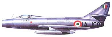 Profil couleur du Dassault MD.454 Mystere IV