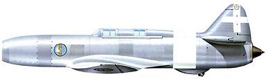 Profil couleur du Caproni-Campini N.1