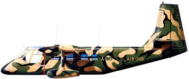 Profil couleur du GAF N-22/N-24 Nomad
