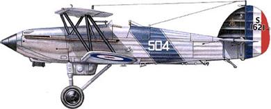 Profil couleur du Hawker  Nimrod