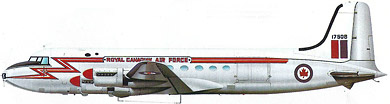 Profil couleur du Canadair CL-2/DC-4M North Star