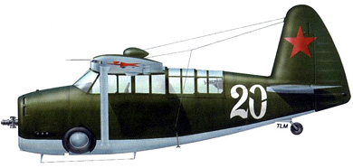 Profil couleur du Curtiss O-52 Owl